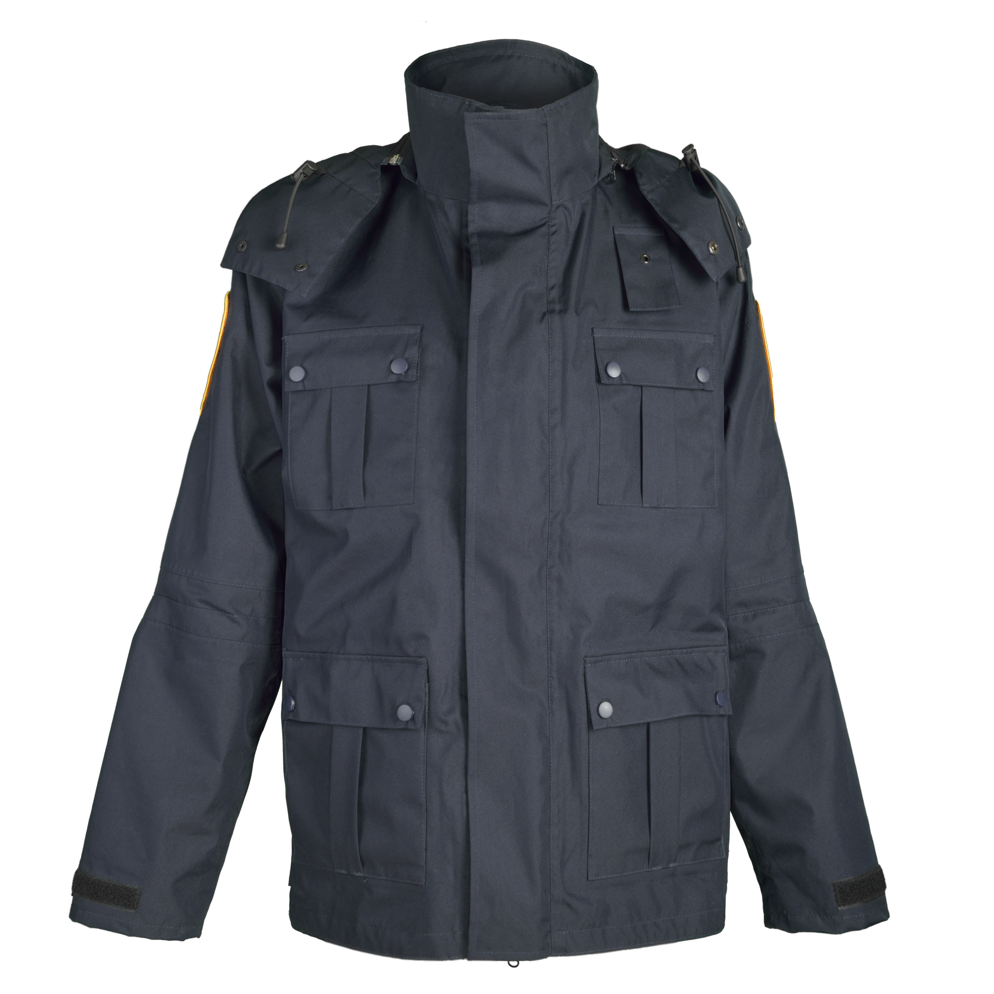 Winter official jacket with warming detachable lining
